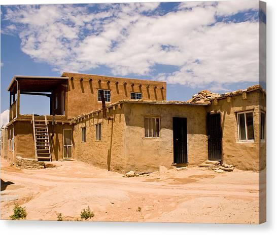 Acoma Pueblo Home Canvas Print