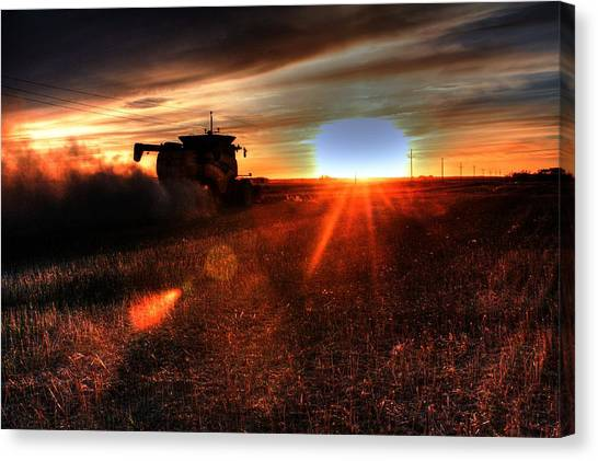 Combine Into The Night Canvas Print