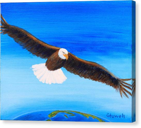 Come Fly With Me Canvas Print by Gary Rowell