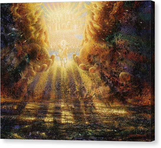Catholic Canvas Print - Come Lord Come by Graham Braddock