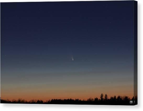 Comet Panstarrs Canvas Print