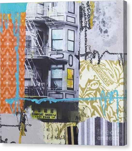 Comfort Shoes Canvas Print by Elena Nosyreva
