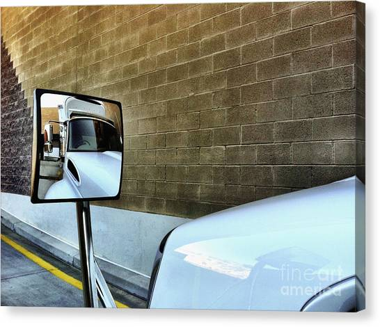Commercial Truck Canvas Print