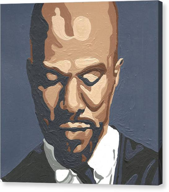 Hip Hop Canvas Print - Common by Rachel Natalie Rawlins