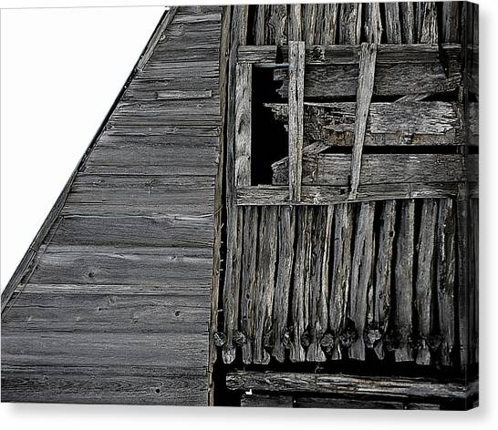 Commons Ford Barn Canvas Print