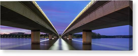 Canberra Canvas Print - Commonwealth Bridge by Bruce Hood