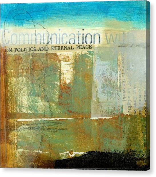 Communications Canvas Print - Communication With by Jane Davies