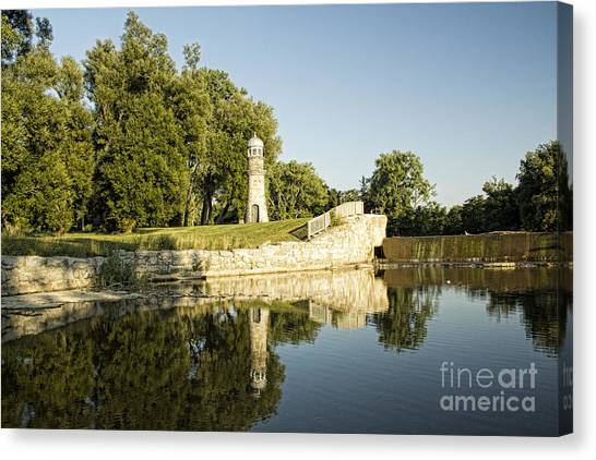 Como Lake Park Canvas Print