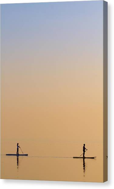 See Canvas Print - Companions by Peter Krenek