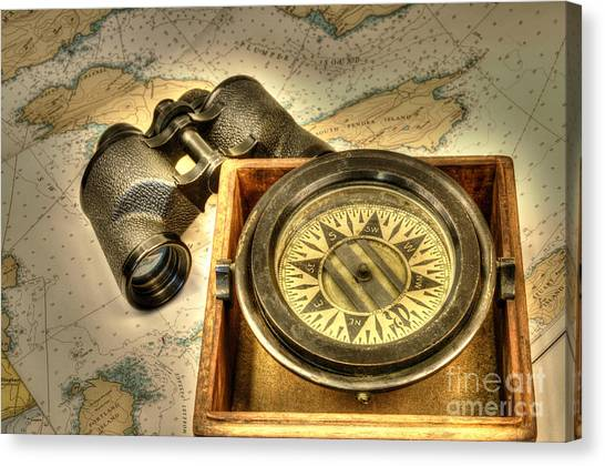 Compass 1 Canvas Print