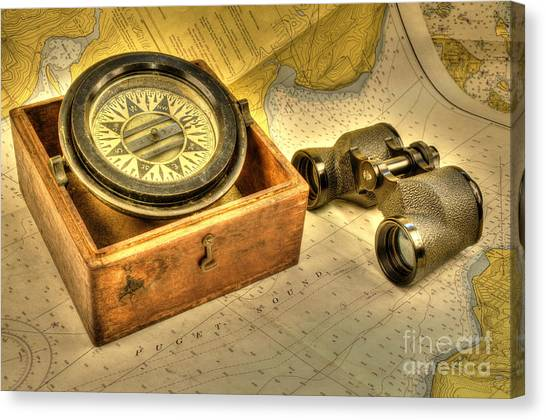 Compass 2 Canvas Print