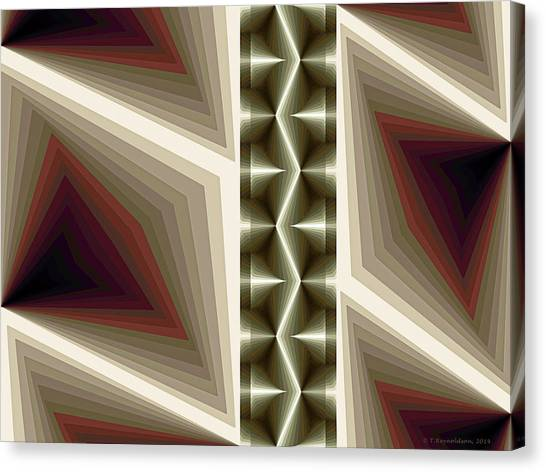 Abstract Design Canvas Print - Composition 235 by Terry Reynoldson