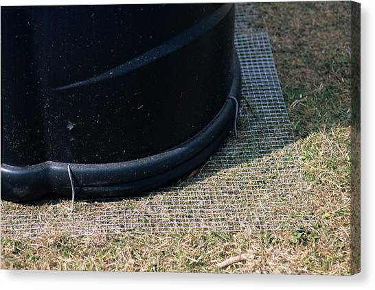 Pest Canvas Print - Compost Bin Protection by Derek Shimmin/science Photo Library