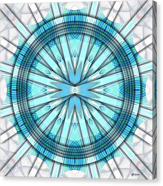 Concentric Eccentric 3 Canvas Print by Brian Johnson