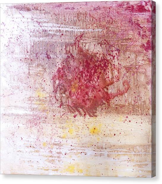 Lyrical Abstraction Canvas Print - Conception - The Firebird by Sora Neva