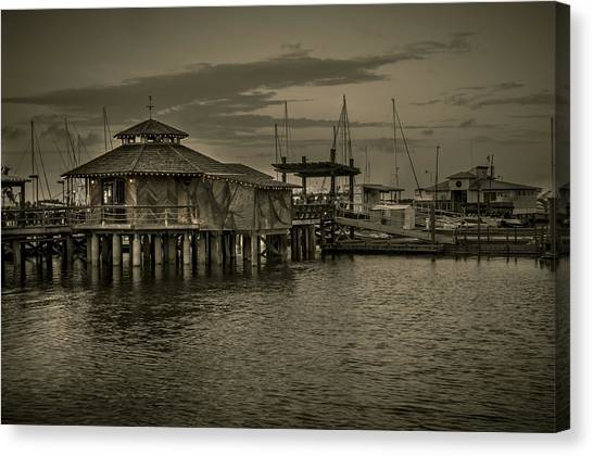 Conch House Marina Canvas Print
