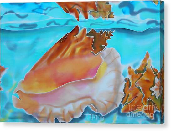 Conch Shallows Canvas Print