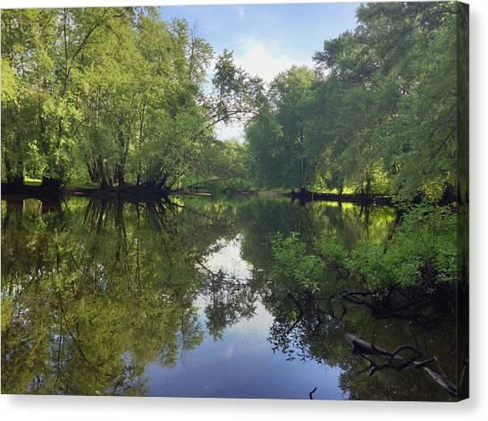 Concord River Canvas Print