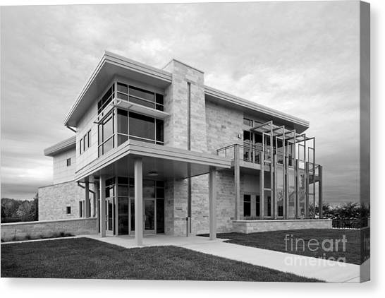 University Of Wisconsin - Madison Canvas Print - Concordia University Environmental Stewardship Center by University Icons