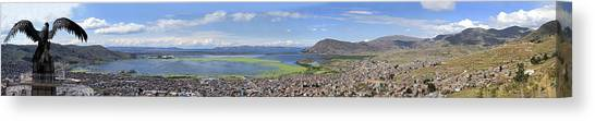 Condors Canvas Print - Condor Hill, Puno, Peru by Panoramic Images