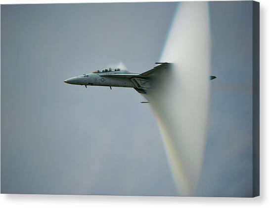 Flight Canvas Print - Cone by Darek Siusta