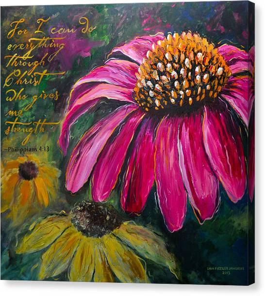 Coneflower Canvas Print