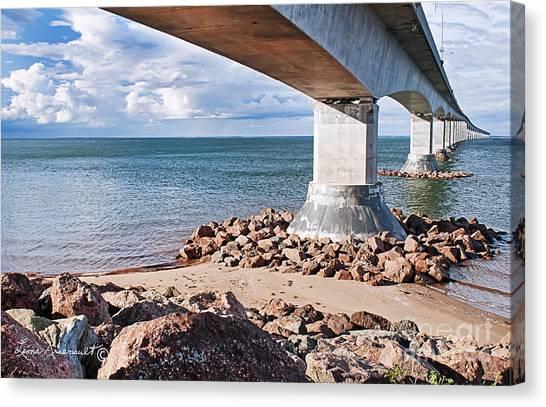 Confederation Bridge Canvas Print