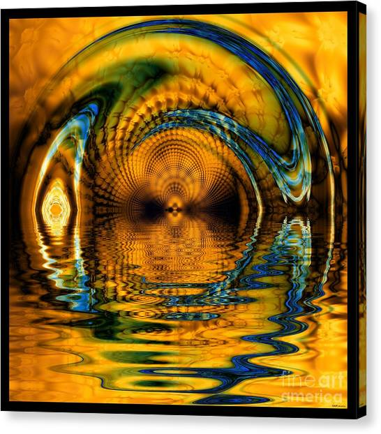 Confusion Of Distortion  Canvas Print