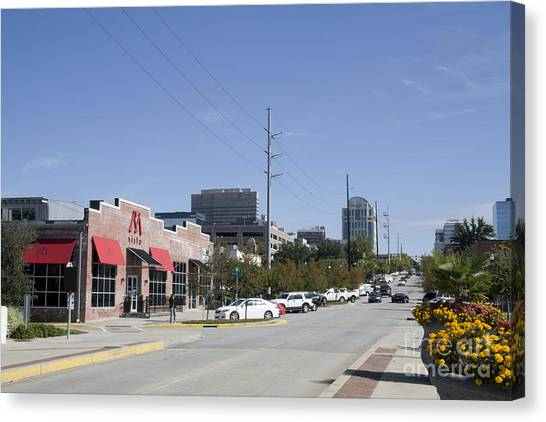 Congaree Vista District In Columbia South Carolina Canvas Print
