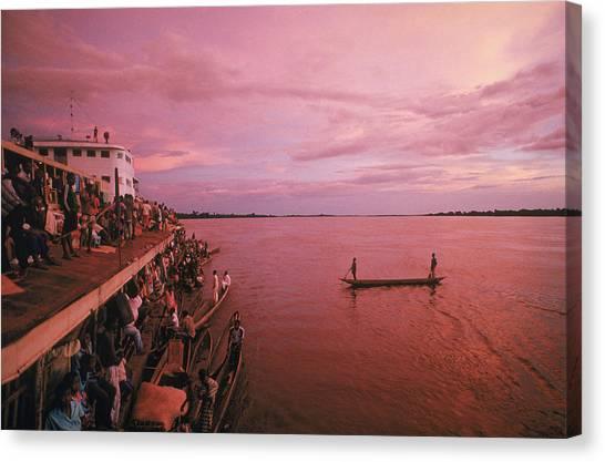 Congo River Canvas Print - Congo River by Robert Caputo