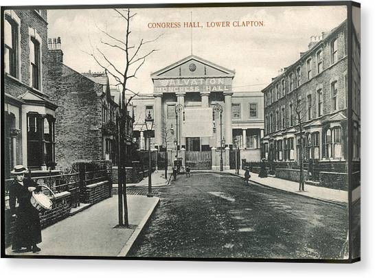 Salvation Army Canvas Print - Congress Hall, Lower Clapton,  London by Mary Evans Picture Library