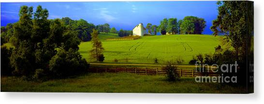 Conley Road Farm Spring Time Canvas Print