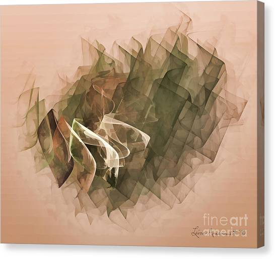 Connected Canvas Print by Leona Arsenault