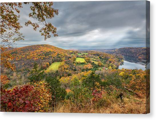 Connecticut Landscape Canvas Print - Connecticut Country by Bill Wakeley