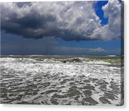 Conquering The Storm Canvas Print