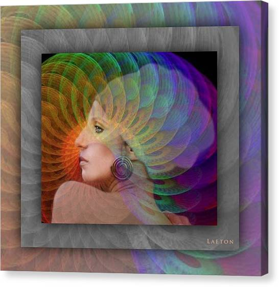 Consciousness Canvas Print