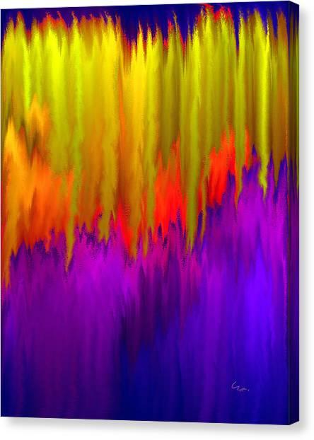 Consciousness Rising Canvas Print
