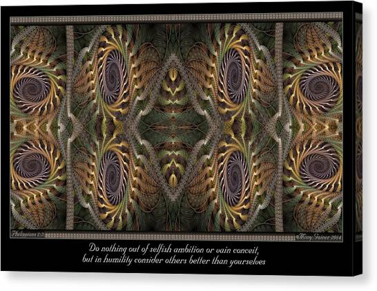 Consider Others Canvas Print