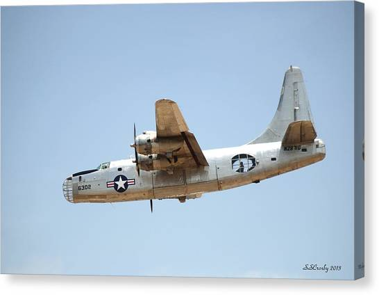 Consolidated Pb4y-2 Privateer  Canvas Print