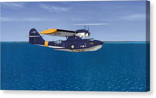 Consolidated Pby-5a Catalina Canvas Print