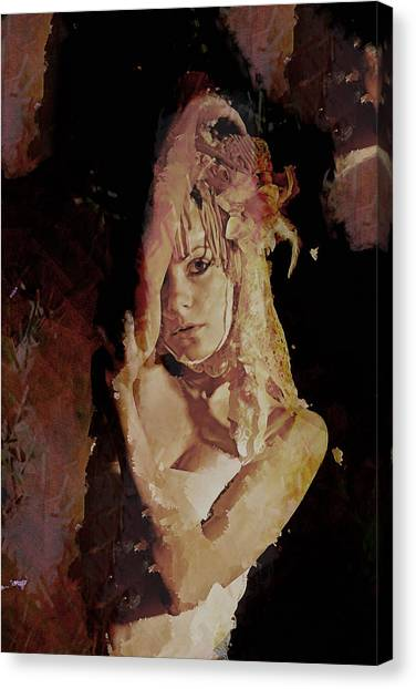 Constant Portrait Canvas Print