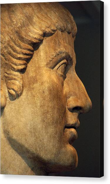 The Metropolitan Museum Of Art Canvas Print - Constantine I, The Great 272-337. Roman Emperor by Bridgeman Images