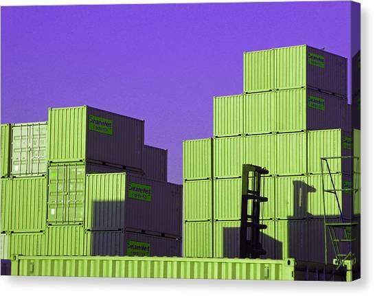 Containers 18 Canvas Print