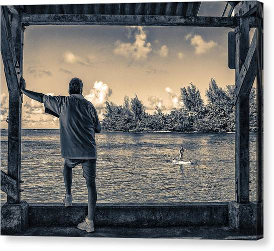 Contemplating Hanalei Canvas Print