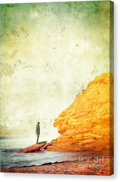 Prince Edward Island Canvas Print - Contemplation Point by Edward Fielding