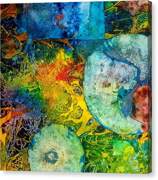 Contempo Five Canvas Print by David Raderstorf