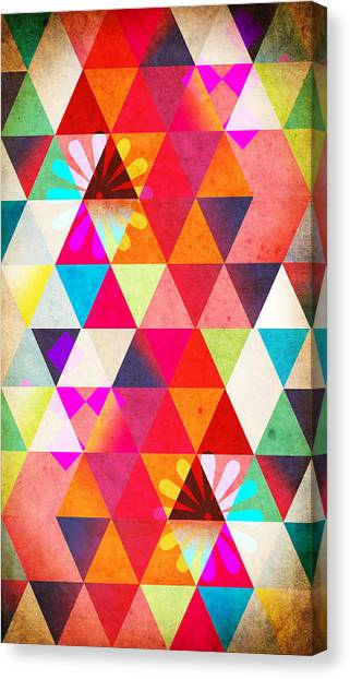 Geometry Canvas Print - Contemporary 2 by Mark Ashkenazi