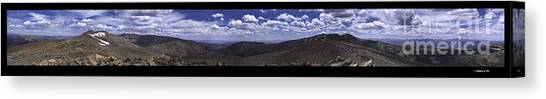 Continential Divide 360 Canvas Print