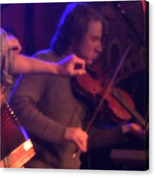 Violins Canvas Print - #continetalclub #austin #cajun #music by Tony Sinisgalli