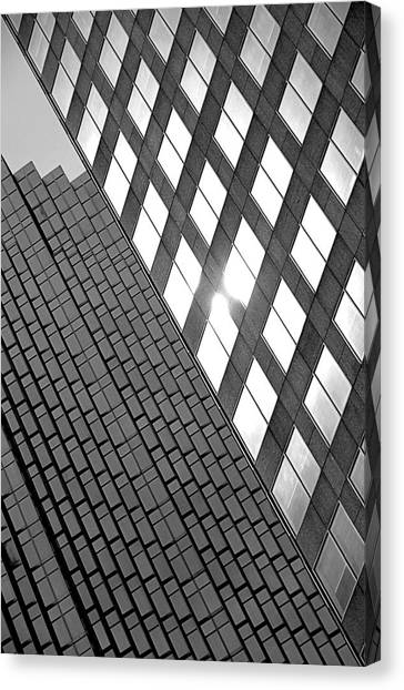 Contrasting Architecture Canvas Print